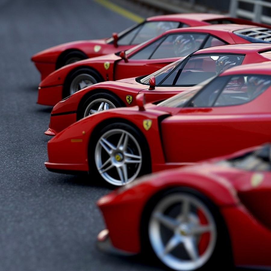 Conducir un Ferrari